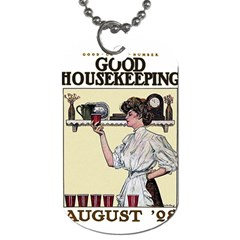 Good Housekeeping Dog Tag (one Side) by Valentinaart