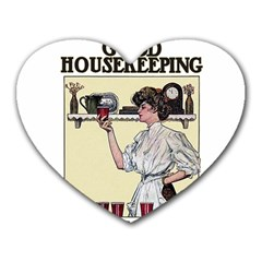 Good Housekeeping Heart Mousepads by Valentinaart