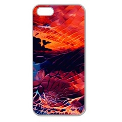Abstract Acryl Art Apple Seamless Iphone 5 Case (clear) by tarastyle