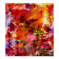 Abstract Acryl Art Shower Curtain 66  X 72  (large)  by tarastyle