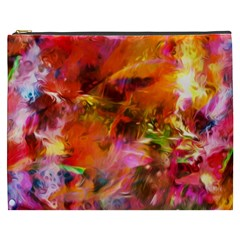 Abstract Acryl Art Cosmetic Bag (xxxl)  by tarastyle