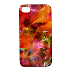 Abstract Acryl Art Apple Iphone 4/4s Hardshell Case With Stand