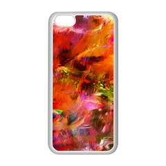 Abstract Acryl Art Apple Iphone 5c Seamless Case (white) by tarastyle