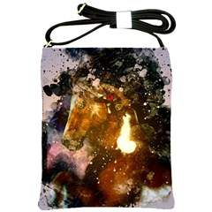 Wonderful Horse In Watercolors Shoulder Sling Bags by FantasyWorld7