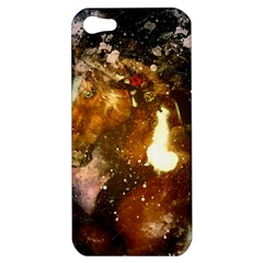 Wonderful Horse In Watercolors Apple Iphone 5 Hardshell Case by FantasyWorld7