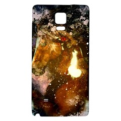 Wonderful Horse In Watercolors Galaxy Note 4 Back Case by FantasyWorld7