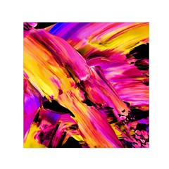 Abstract Acryl Art Small Satin Scarf (square) by tarastyle