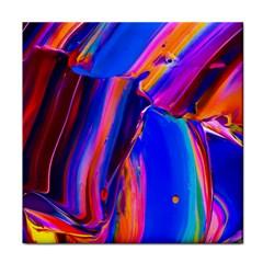 Abstract Acryl Art Face Towel by tarastyle