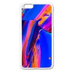 Abstract Acryl Art Apple Iphone 6 Plus/6s Plus Enamel White Case by tarastyle