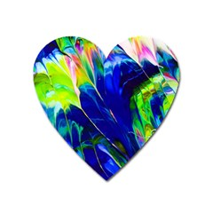 Abstract Acryl Art Heart Magnet by tarastyle