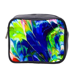 Abstract Acryl Art Mini Toiletries Bag 2 Side by tarastyle