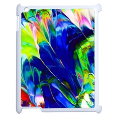 Abstract Acryl Art Apple Ipad 2 Case (white) by tarastyle