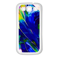 Abstract Acryl Art Samsung Galaxy S3 Back Case (white) by tarastyle