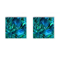 Abstract Acryl Art Cufflinks (square) by tarastyle