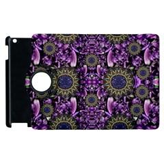 Flowers From Paradise In Fantasy Elegante Apple Ipad 3/4 Flip 360 Case by pepitasart
