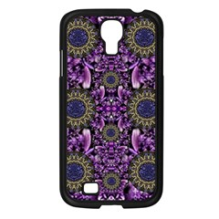 Flowers From Paradise In Fantasy Elegante Samsung Galaxy S4 I9500/ I9505 Case (black) by pepitasart