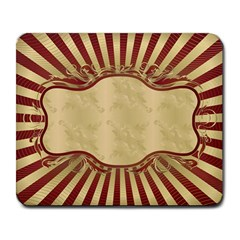 Art Deco Red Large Mousepads by 8fugoso