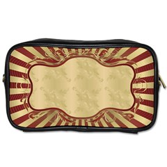 Art Deco Red Toiletries Bags 2 Side by 8fugoso