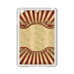 Art Deco Red Ipad Mini 2 Enamel Coated Cases by 8fugoso
