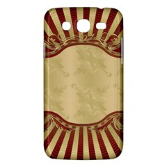 Art Deco Red Samsung Galaxy Mega 5 8 I9152 Hardshell Case  by 8fugoso