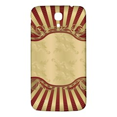 Art Deco Red Samsung Galaxy Mega I9200 Hardshell Back Case by 8fugoso