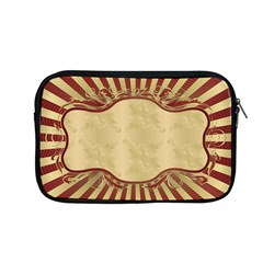 Art Deco Red Apple Macbook Pro 13  Zipper Case by 8fugoso