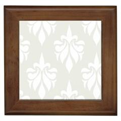 Fleur De Lis Framed Tiles by 8fugoso