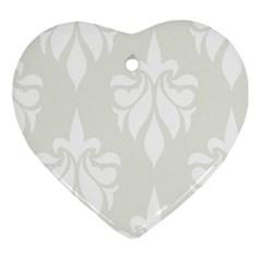 Fleur De Lis Ornament (heart) by 8fugoso