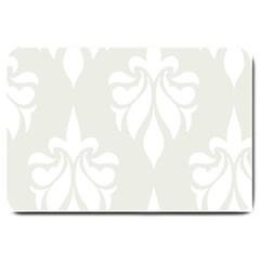 Fleur De Lis Large Doormat  by 8fugoso
