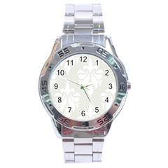 Fleur De Lis Stainless Steel Analogue Watch by 8fugoso