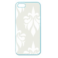 Fleur De Lis Apple Seamless Iphone 5 Case (color) by 8fugoso