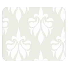 Fleur De Lis Double Sided Flano Blanket (small)  by 8fugoso