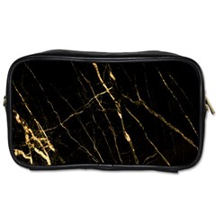 Black Marble Toiletries Bags by 8fugoso