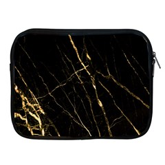 Black Marble Apple Ipad 2/3/4 Zipper Cases by 8fugoso
