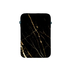 Black Marble Apple Ipad Mini Protective Soft Cases by 8fugoso