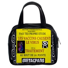 Ronald Story Vaccine  Classic Handbags (2 Sides) by MRTACPANS