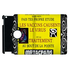 Ronald Story Vaccine  Apple Ipad 3/4 Flip 360 Case by MRTACPANS