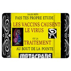 Ronald Story Vaccine  Ipad Air Flip by MRTACPANS