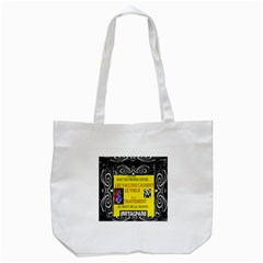 Vaccine  Story Mrtacpans Tote Bag (white) by MRTACPANS