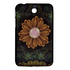 Abloom In Autumn Leaves With Faded Fractal Flowers Samsung Galaxy Tab 3 (7 ) P3200 Hardshell Case  by jayaprime