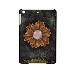 Abloom In Autumn Leaves With Faded Fractal Flowers Ipad Mini 2 Hardshell Cases by jayaprime