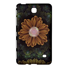 Abloom In Autumn Leaves With Faded Fractal Flowers Samsung Galaxy Tab 4 (7 ) Hardshell Case  by jayaprime