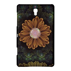 Abloom In Autumn Leaves With Faded Fractal Flowers Samsung Galaxy Tab S (8 4 ) Hardshell Case  by jayaprime