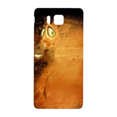 The Funny, Speed Giraffe Samsung Galaxy Alpha Hardshell Back Case by FantasyWorld7