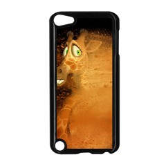 The Funny, Speed Giraffe Apple Ipod Touch 5 Case (black) by FantasyWorld7