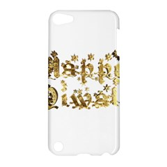 Happy Diwali Gold Golden Stars Star Festival Of Lights Deepavali Typography Apple Ipod Touch 5 Hardshell Case by yoursparklingshop