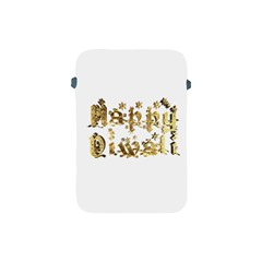 Happy Diwali Gold Golden Stars Star Festival Of Lights Deepavali Typography Apple Ipad Mini Protective Soft Cases by yoursparklingshop