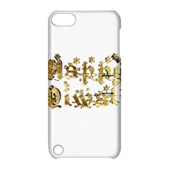 Happy Diwali Gold Golden Stars Star Festival Of Lights Deepavali Typography Apple Ipod Touch 5 Hardshell Case With Stand by yoursparklingshop