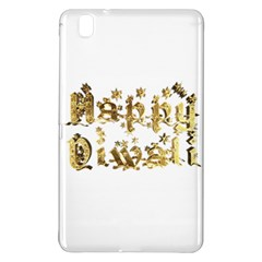 Happy Diwali Gold Golden Stars Star Festival Of Lights Deepavali Typography Samsung Galaxy Tab Pro 8 4 Hardshell Case by yoursparklingshop