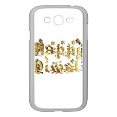 Happy Diwali Gold Golden Stars Star Festival Of Lights Deepavali Typography Samsung Galaxy Grand Duos I9082 Case (white) by yoursparklingshop